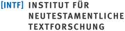 Logo des Instituts für neutestamentliche Textforschung